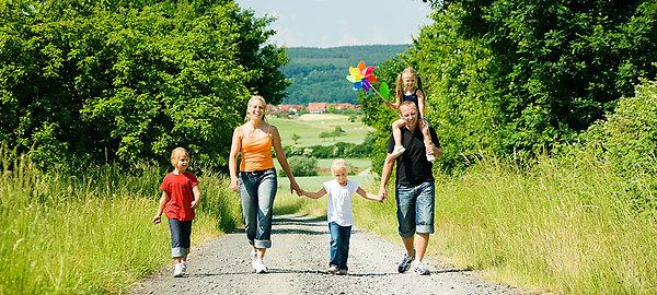 Wandern im Urlaub im Bayerischen Wald