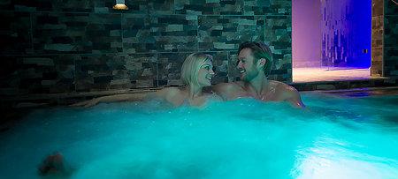 Gesundheit und Entspannung in der Salzgrotte im Hotel Bayern